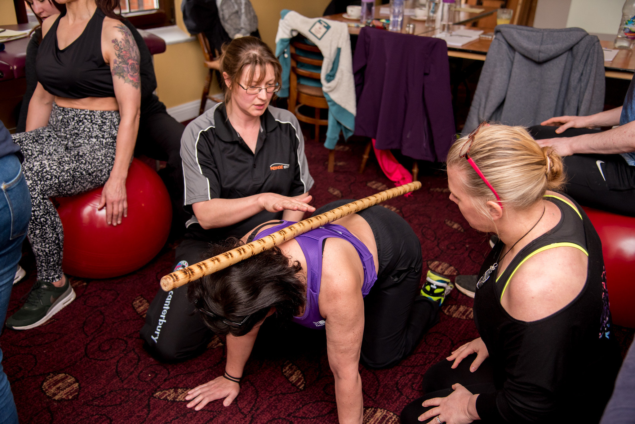 CPD spine and pelvis workshop